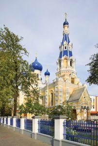 St. Nicholas Garrison Cathedral in Brest. Belarus